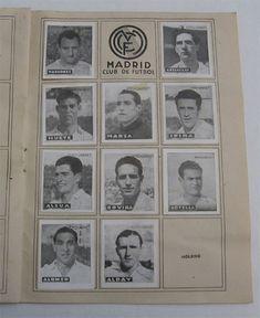 Real Madrid C.F. Cromos Editorial Cisne 1942-43. Liga Española.