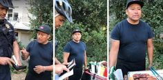 UC Berkeley Police were filmed taking the money out of a hot dog vendor's wallet as they gave him a ticket for not having a permit.