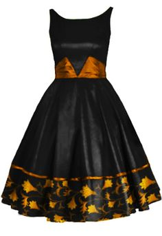 Dress With Satin Sash By Amber Middaugh