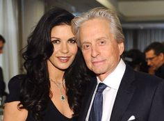 Michael Douglas: Wife Catherine Zeta-Jones Won't Be With Him at Golden Globes Today