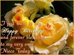 happy+birthday+niece's+greetings | Birthday Wishes for Niece - Birthday Cards, Greetings