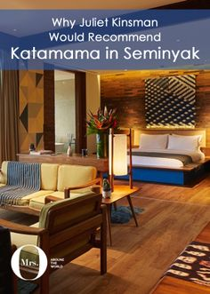 If you're a fetishist for fine furnishings in the heart of Seminyak, Katamama is an oasis of thoughtful, sensitive interior design which is as thought provoking and soul uplifting as it is a getaway for good times.