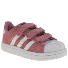 Adidas Pink Superstar Girls Toddler