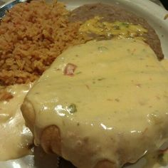 Chicken Chimichanga @ Cristina's Mexican Restaurant