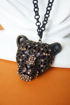 Panther Jewelry Necklace