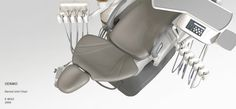 noble design | product design | design studio | medical | Oenmo | Dental Unit Chair | E-woo