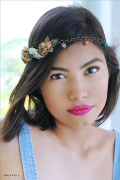 Model:Fatima Gonzalez Make up & Hairstyles: Alicia Mejia Photograpy:Alicia Mejia Conception de l'image by Alicia Mejia