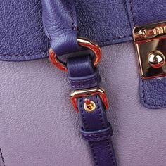 Miu Miu Madras Goat Leather Top Handle Bag Light Blue 20 #bags