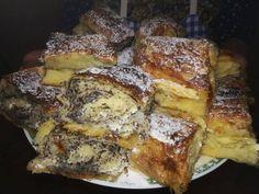 Elkészült a zalai kelt rétes, ahogy a mami csinálta - Ketkes.com Hungarian Recipes, Strudel, Winter Food, Food To Make, French Toast, Foodies, Recipies, Deserts, Dessert Recipes