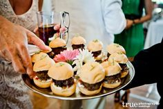 Blue Skies, Fine Food, and Great Friends | A Catered Affair by Personal Touch Dining / follow @True Photography Weddings