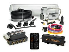 e-Level Air Management Package w/ TouchPad - AccuAir Suspension