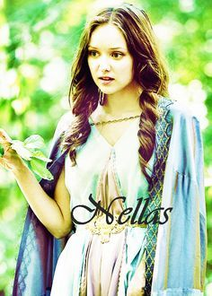 "Famous Sindar: Nellas ""Being a lady of nature, she lived in the woods and never came to the city but she knew much of things and was very wise. Nellas was young during the latter-half of the fourth century First Age and it was during that time that Túrin"