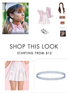 """""""hanging with ari"""" by unicorn-923 ❤ liked on Polyvore featuring Topshop"""