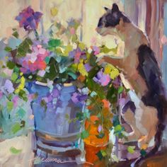 The Softer Side of Ed, painting by artist Dreama Tolle Perry