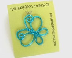 wire butterfly, she also has a cute star and heart in her etsy shop