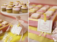 Cupcakes & Cookies- Princess Birthday Dessert Buffet-Amy Atlas