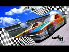 YouTube Daytona USA Arcade Xbox 360 Sega Saturn, Arcade Machine, Xbox 360, America, Car, Youtube, Image, Explore, Videos