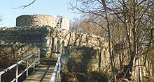 Bishofstein Castle (German: Burg Bischofstein or Ruine Bischofstein) is a castle in the municipality of Sissach of the canton of Basel-Land in Switzerland. It is a Swiss heritage site of national significance