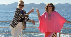First Look at 'Absolutely Fabulous' Movie as Shooting Begins -- Jennifer Saunders and Joanna Lumley reunite on the set of Fox Searchlight and BBC Films' 'Absolutely Fabulous' movie as production begins. -- http://movieweb.com/absolutely-fabulous-movie-photo/