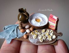 Now available in my Etsy shop. Miniature Kitchen, Miniature Crafts, Miniature Food, Miniature Dolls, Clay Miniatures, Dollhouse Miniatures, Barbie Food, Mini Craft, Tiny Food