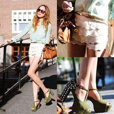 #SheInside White Layered Crochet Lace Shorts - Sheinside.com $24.71