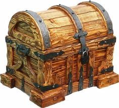Before you begin even the simplest of woodworking projects, you'll need some basic tools. Rustic Furniture, Diy Furniture, Quality Furniture, Wood Projects, Woodworking Projects, Woodworking Plans, Trunks And Chests, Wood Chest, Got Wood