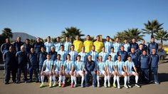 Selección Argentina: Del control antidopaje sorpresivo a la foto oficial - Fútbol - Copa América 2015 - http://befamouss.forumfree.it/?t=70916440
