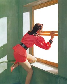 Mariacarla Boscono | Javier Vallhonrat | Flair Magazine March 2005 | 'Ritratti di Nuovo Stile — Anne of Carversville