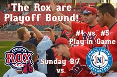 The Rox have officially clinched a playoff spot! They will take on the North Shore Navigators in the #4 vs. #5 play-in game this Sunday. Home team is TBD; the Navigators currently hold a 1-game lead on Brockton for the #4 seed with 2 regular season games remaining for both teams. The winner of Sunday's matchup will advance to the 2nd round to face the #2 seed in a 3-game series.
