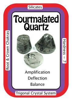 Tourmalated Quartz