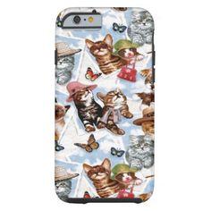 Little Miss Kitty iPhone 6 Case