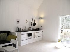 Leva Husfabrik is a small Swedish house manufacturer based on the small and amazingly beautiful island of Gotland