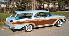 Vintage Station Wagons :: 1957 Mercury Colony Park. This car was on ebay. Although I favor mostly GM wagons, this one is a beauty.
