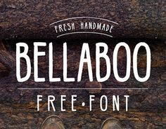 Hello everyone! The week start with one more exclusive Freebie from us! The really nice handmade font by Marcelo Reis Melo: BellaBoo. BellaBoo is an all caps font perfect for any kind of project the type also contain latin characters and swedish characters.  ellaboo by Marcelo Reis Melo may be just what you're looking for. A bold design, Bellaboo is great for creating eye-catching headlines, posters and more.