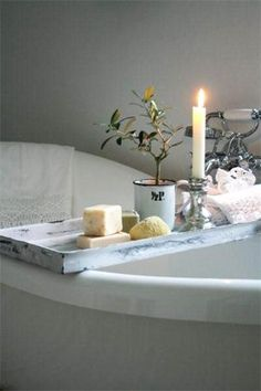 #spring #bathroom #decor #DIY #spa