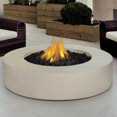 You'll love the Mezzo Propane Fire Pit Table at AllModern - With Great Deals on modern Outdoor  products and Free Shipping on most stuff, even the big stuff.