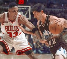 A look at how Stockton compares to other floor generals such as Gary Payton, Kevin Johnson, Mark Price and the Hardaway boys -- Tim and Penny. Jazz Basketball, Olympic Basketball, 1992 Olympics, John Stockton, Kevin Johnson, Gary Payton, Karl Malone, Scottie Pippen, Mark Price