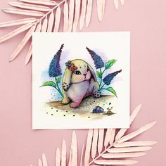 Original art, watercolor painting, hand painted, illustration, surrealism, Easter, perfect gift, animal art, fantasy, whimsical, colorful, home decor, floral Watercolor Paper, Watercolor Paintings, Circus Characters, Ink Painting, Cute Bunny, Watercolor Illustration, All Art, Surrealism, Whimsical
