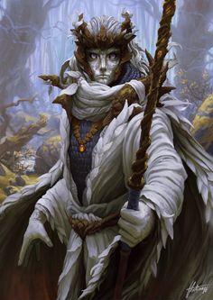 Rammah by Ondřej Hrdina Fantasy Races, Fantasy Rpg, Medieval Fantasy, Fantasy Artwork, Dark Fantasy, Fantasy Character Design, Character Concept, Character Art, Concept Art