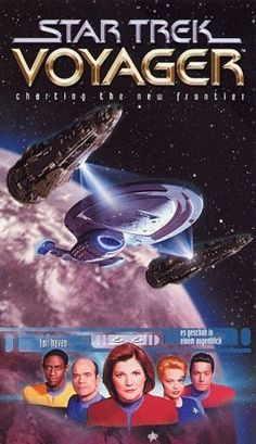 "Star Trek: Voyager (TV Series) ~ ""Pulled to the far side of the Galaxy, where the Federation is 75 years away at maximum warp speed, a Starfleet ship must cooperate with Maquis rebels to find a way home."""