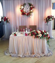 - Decoration World Wedding Backdrop Design, Wedding Stage Decorations, Bridal Shower Decorations, Wedding Reception Flowers, Wedding Table, Burgundy Wedding, Red Wedding, Wedding Designs, Wedding Styles