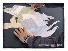 Paper Cut Portrait art https://rockpaperscissors2.wordpress.com/2014/05/06/personal_portrait_cut_out_paper/ #papercutart #selfportrait #giftforhim #JewishFineArt