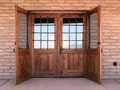 rustic style double entry doors | ... of $ 300 fully pre hung ...