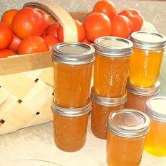 Tangerine Jelly #canning #preserving #jelly #jam