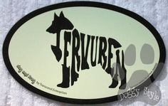 Euro Style Belgian Tervuren Dog Breed Magnet http://doggystylegifts.com/collections/euro-style-breed-magnets/products/euro-style-belgian-tervuren-dog-breed-magnet