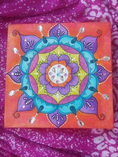 Mandala em tela by Soraya Sebolt