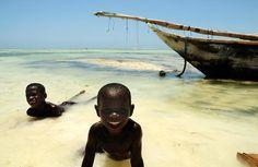 Zanzibar water-babies!