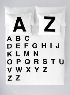 Komplet pościeli Alphabet