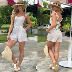 Cute Short Dresses, Elegant Dresses For Women, Casual Dresses, Casual Outfits, Cute Outfits, Classy Summer Outfits, Summer Fashion For Teens, Teen Fashion, Fashion Outfits
