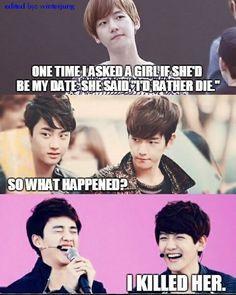 Satansoo and Baekhyun....
